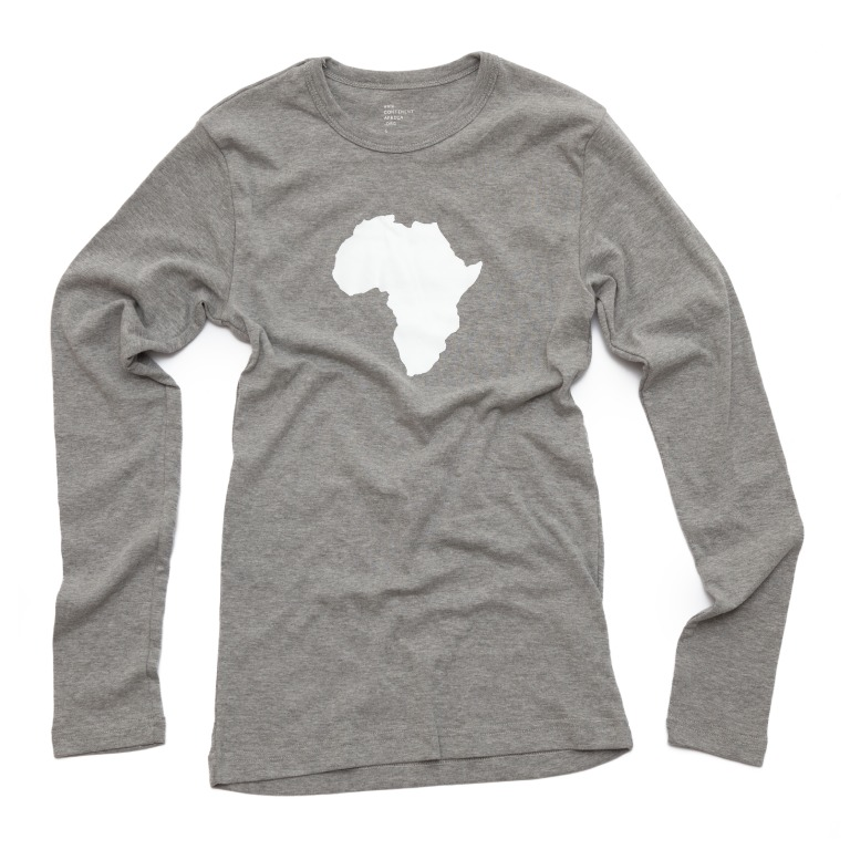 Men's Long Sleeve Heather Grey