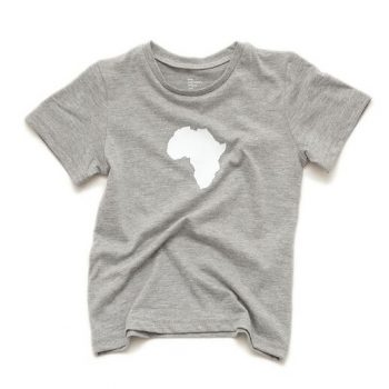 Toddler Short Sleeve Heather Grey