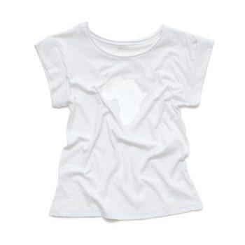 Women's Short Sleeve White