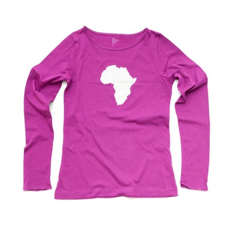 Womens Long Sleeve Magenta